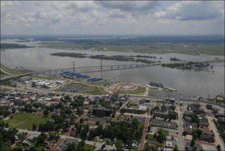 Alton, just above the Mississippi and the Missouri
