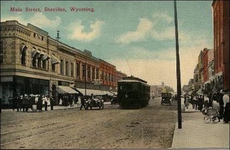 Sheridan, largest town in northern Wyoming
