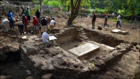 Archaeologists unearth world's first church