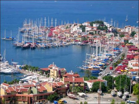 Marmaris – Turkish resort town on the Mediterranean coast