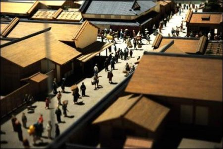 Days of Edo in Japan