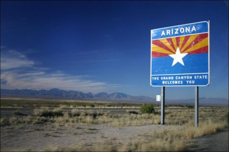 Arizona: Hot climate, desserts and very mild winters