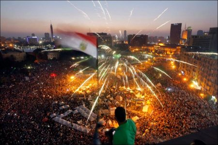 Egypt protesters in world news increases travel risk