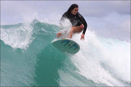 Surfing Tourism in Waikiki, Hawaii