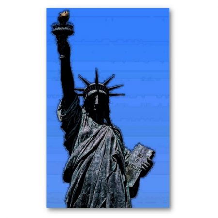 Statue of Liberty Pop Art