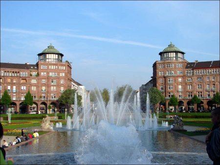 Mannheim and Heidelberg in Germany