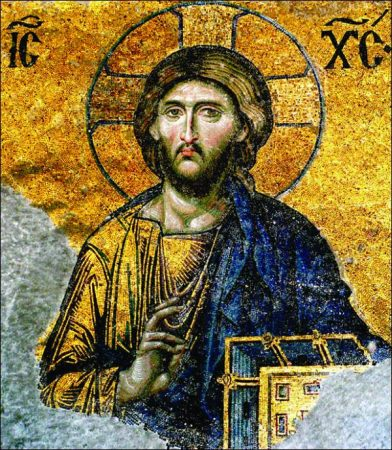 The Mosaics of St. Sophia in Istanbul