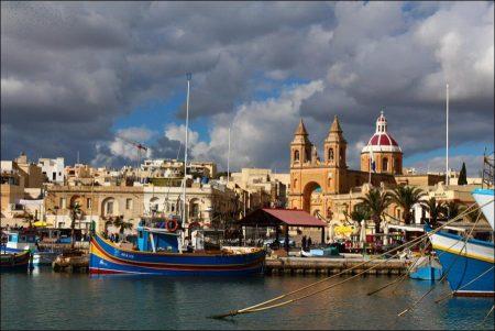 Traveling to Valetta, Malta