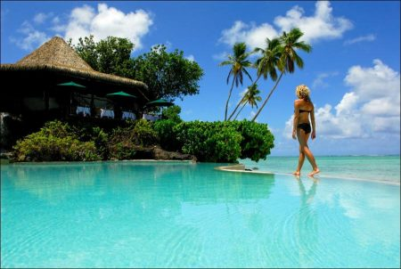 Cook Islands with Tropical Beaches