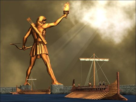 The Seven Wonders: The Colossus of Rhodes