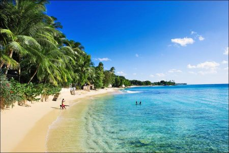 Barbados: Beach, Blue Sea and Sky