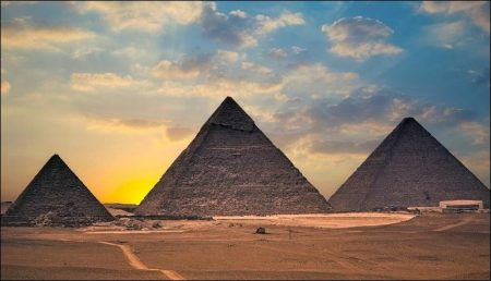 Great Pyramids: The symbols sacred to the Sun-God