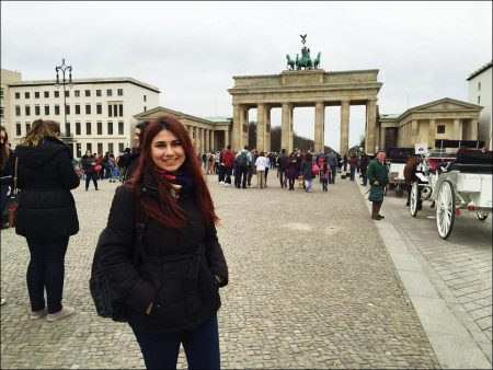 A nice day in front of the Brandenburg Gate, Berlin