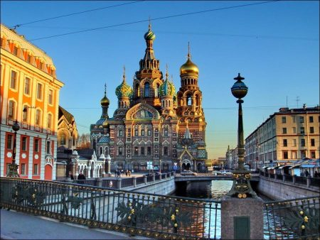 Welcome to St Petersburg, former Leningrad in Russia
